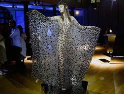 ستبهرك الأزياء الكريستالية التي احتفت إيرس فان هيربين بذكراها العاشرة من خلالها!