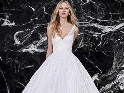 فساتين زفاف لطلة ملوكية