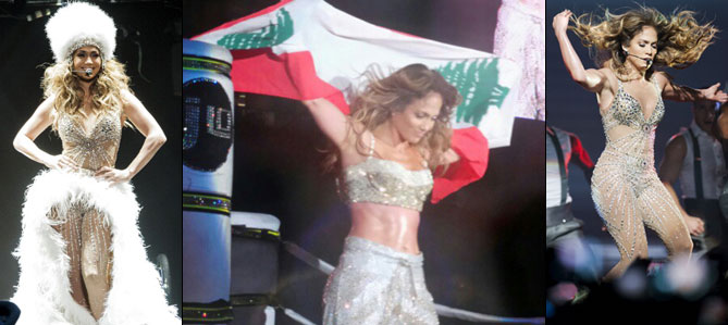 بالصور جينيفر لوبيز تحمل العلم اللبناني الاستقلال jlo-main2-23-11-2012