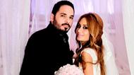رامي عيّاش وعروسه في حفل زفاف ورديّ
